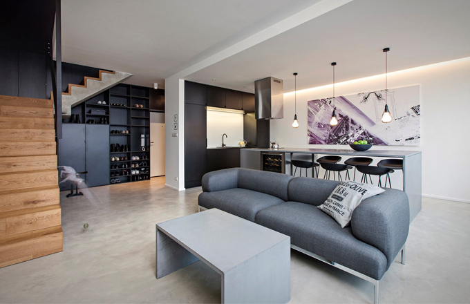 Mezonetový byt s potenciálem loftu