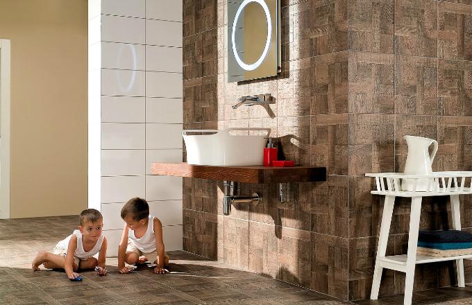 Rekonstrukce koupelny: zkuste optické triky!