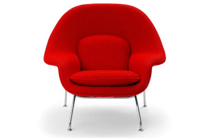 Eero Saarinen: inovativní křeslo Womb