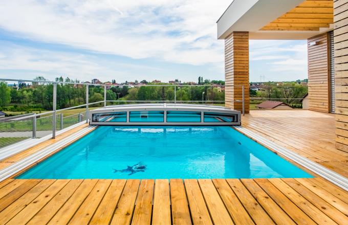 Proč, kdy a jak zazimovat bazén?