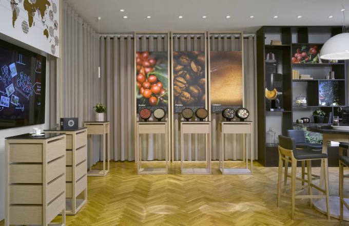 Nespresso: Experience Center v Pařížské