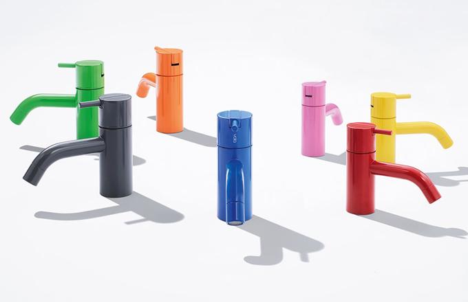 Arne Jacobsen: barevné baterie Vola HV1