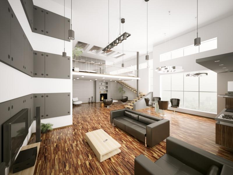Modern byt moderna a pohodl v mezonetov m byt for Toto arredamenti