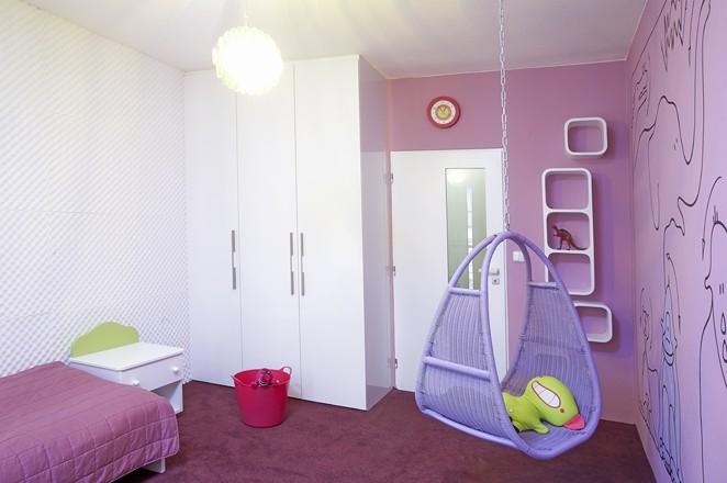 Moderní byt  Dětský pokoj se zoologickou zahradou