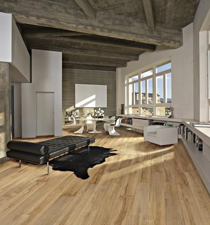 Dřevěná podlaha z kolekce supreme grande, dekor dub casa (kährs