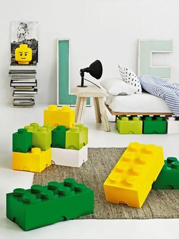 Úložné boxy Lego