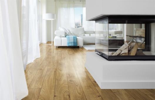 Novinka na českém trhu: laminátové podlahy ROOMS