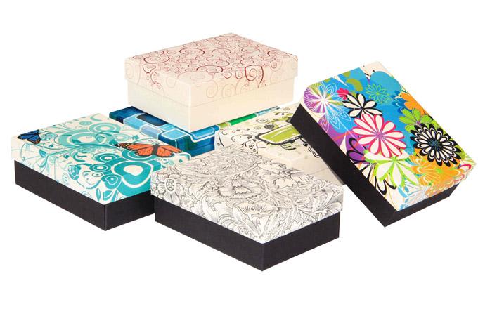 Krabice, obaly a dárkové sady pro vánoční shon