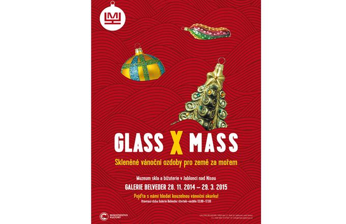 Výstava GLASS X MASS aneb tak trochu jiné vánoce