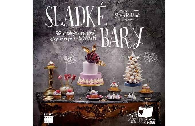 První kniha s tematikou sladkých barů v Čechách