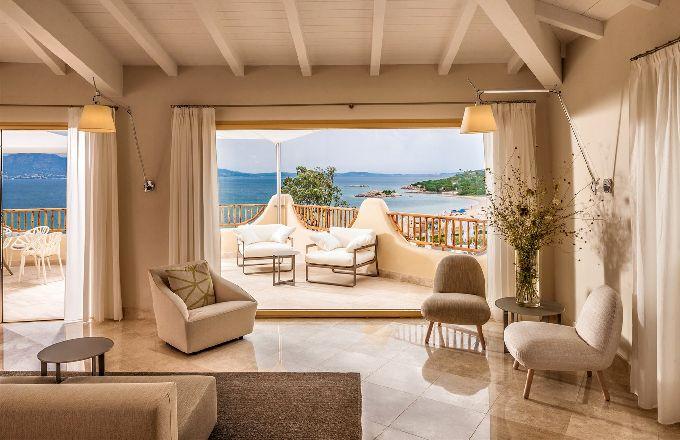 Luxusní hotel Cala Cuncheddi na severu Sardinie
