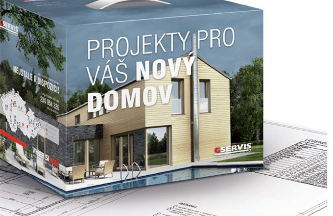 SOUTĚŽ o typový projekt domu za 28 600 Kč