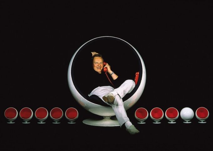 Eero Aarnio: legendární Bubble Chair
