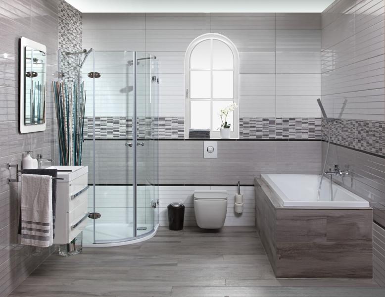 Moderní koupelny 2017