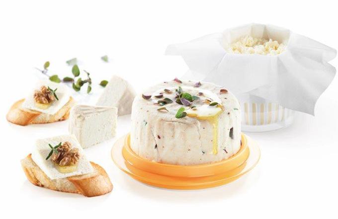 Vychytávky pro přípravu domácího sýru