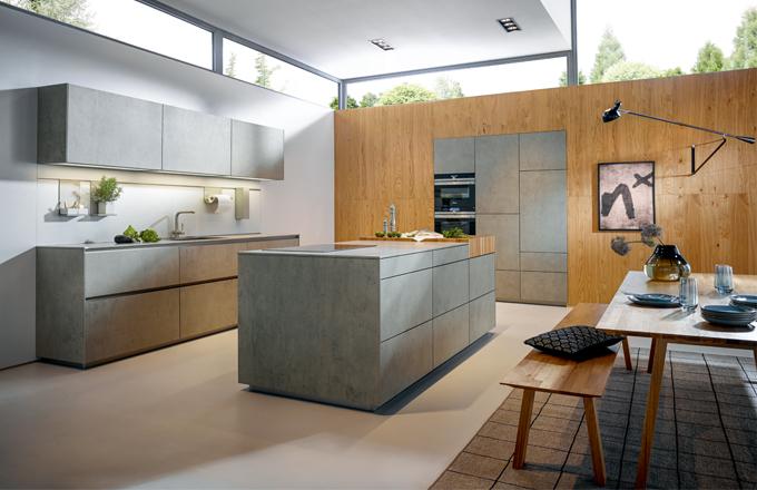 Kuchyně NX 950: setkání odolnosti a elegance