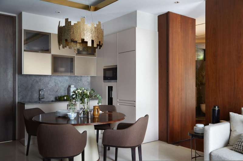 BK interior design architectural planning, the architect apartment, Surabaya, Indonesia