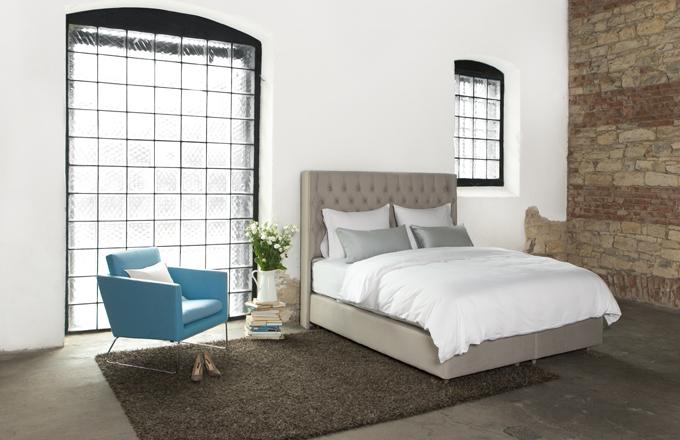 Nová britská značka postelí Aston od Dreambeds
