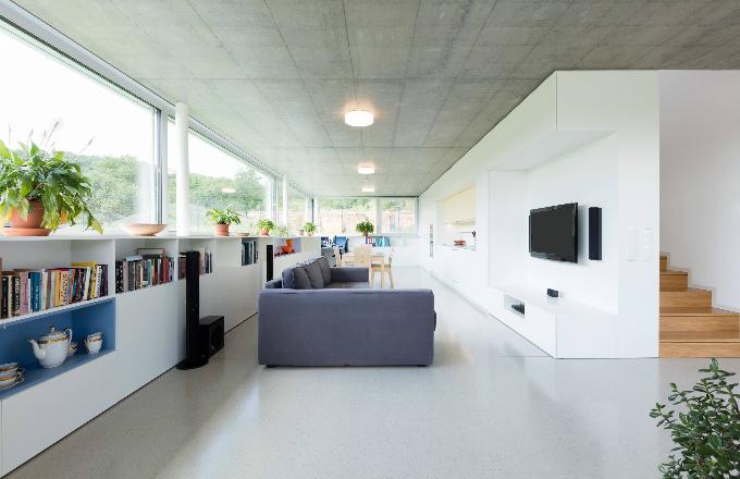 Rodinný dům kubických tvarů v Brně