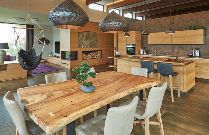 Exkluzivní dům s hřejivou atmosférou