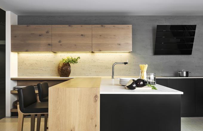Zařizujeme kuchyň: přírodně se dřevem