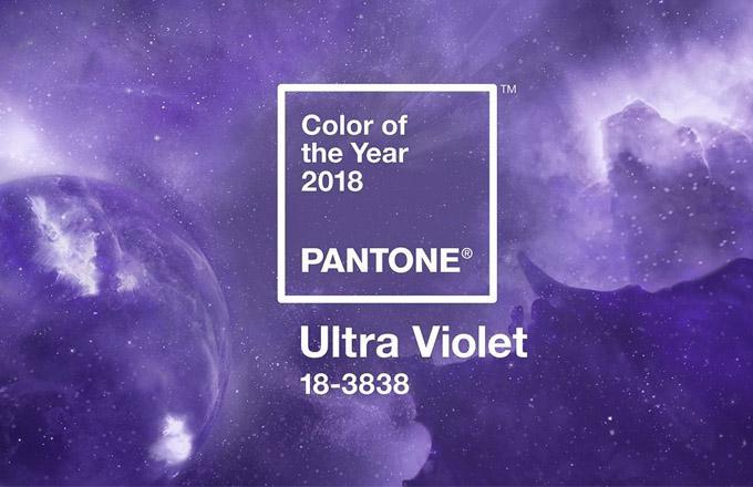 Barva ultra violet jako experimentální (k)rok