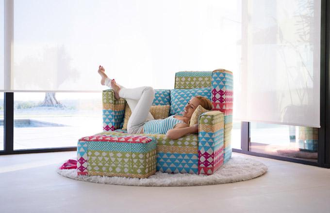 Ledabylé sezení s maximálním pohodlím